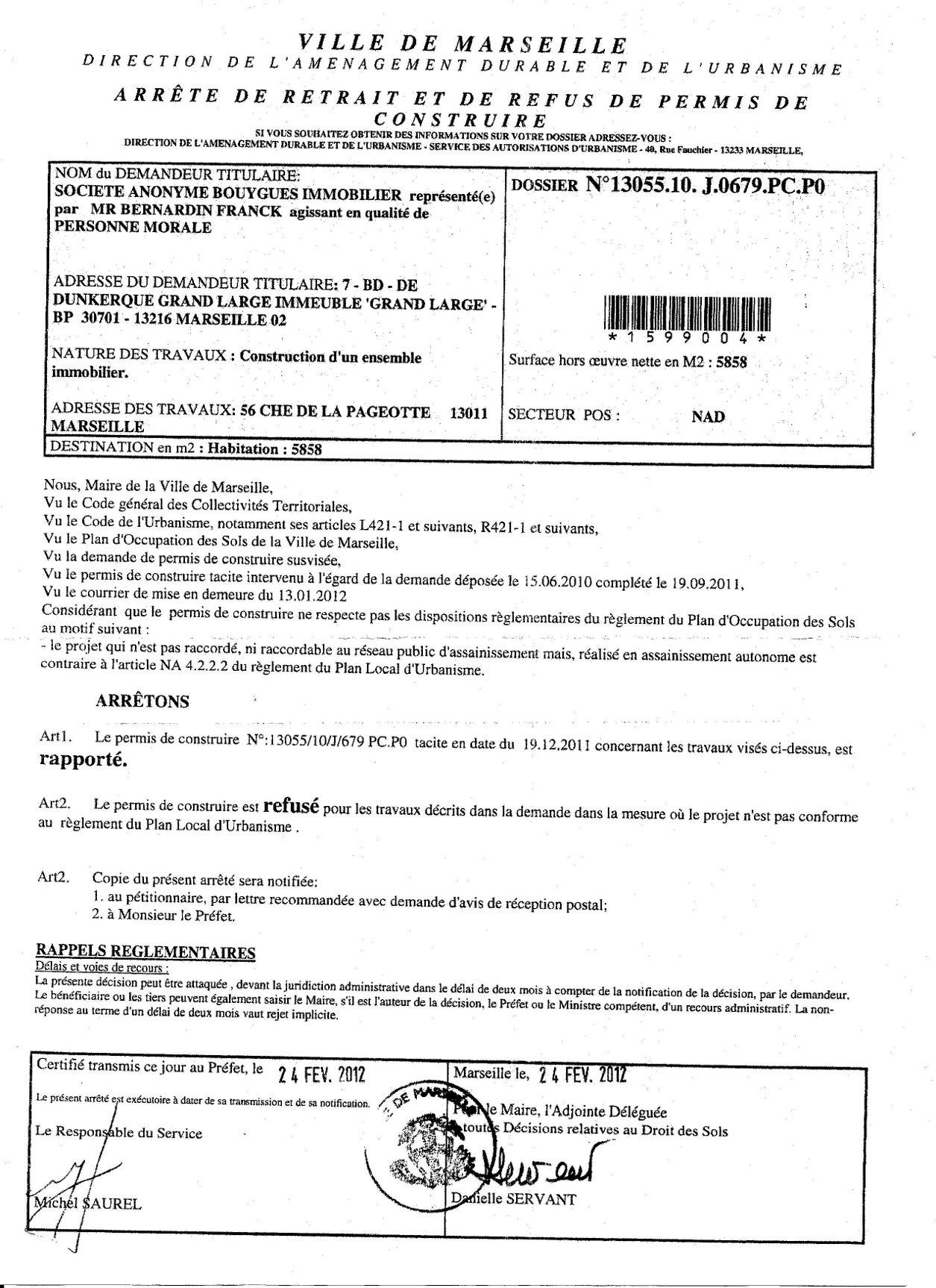 Ppt recours refus permis de lettre de recours gracieux for Recours administratif permis de construire